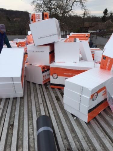 Lapostető , magastető csapadékvíz elleni szigetelés Tiszadobi élelmiszerbolt
