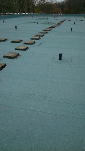 Lapostető , magastető csapadékvíz elleni szigetelés